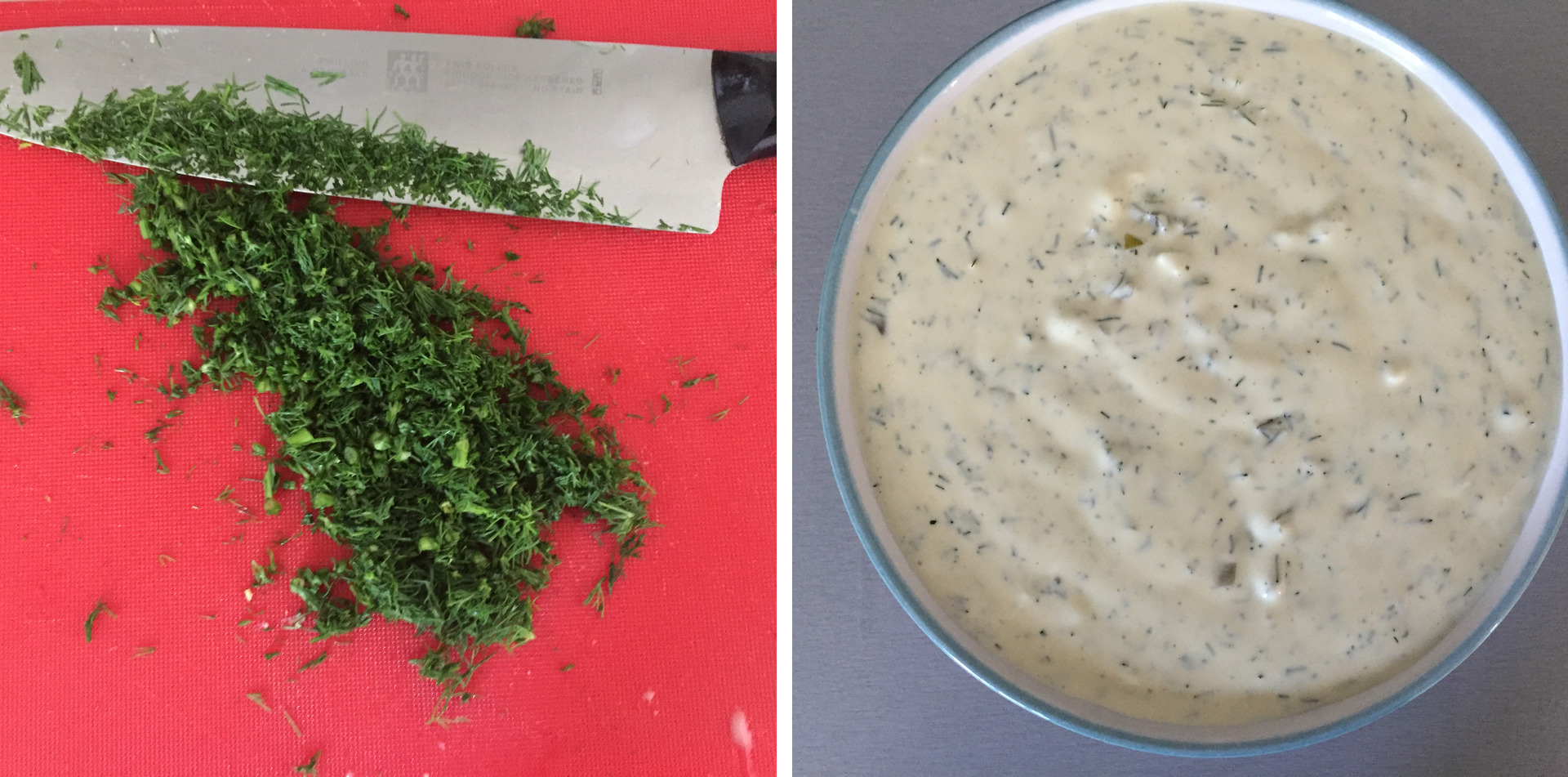 Finalizing the remoulade