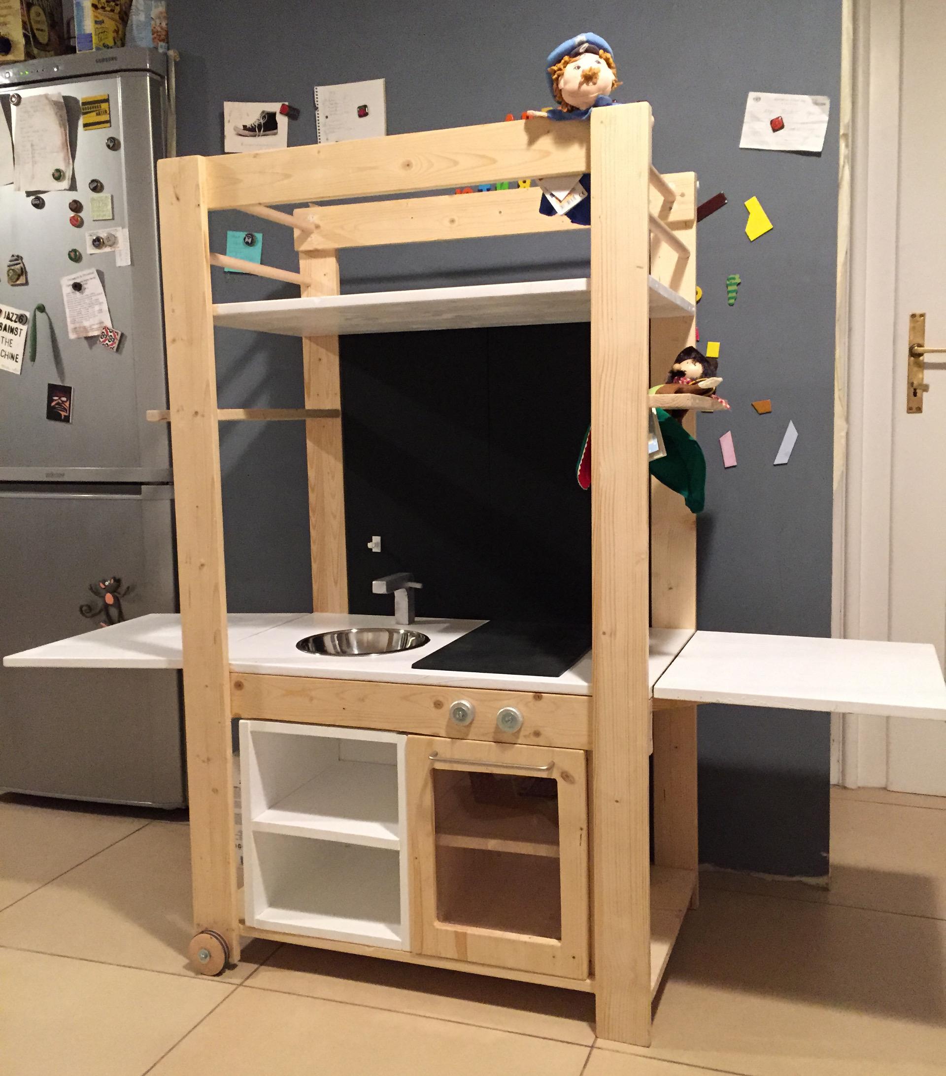 Ikea kinderküche erweitern  Die Kasperleküche - Spielzeug, Holz, Do-It-Yourself - Guido Flohr