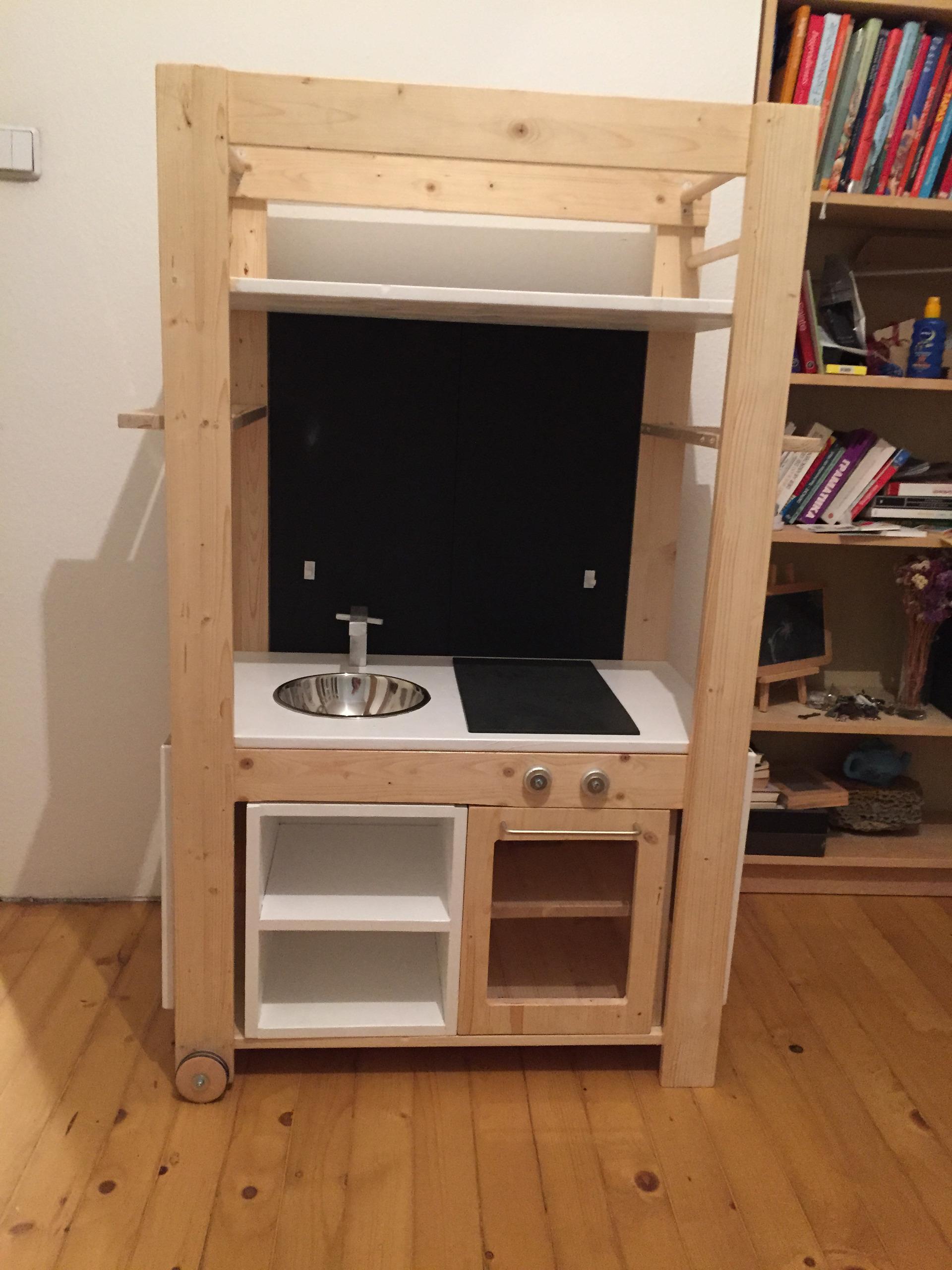 Die Kasperleküche - Spielzeug, Holz, Do-It-Yourself - Guido Flohr